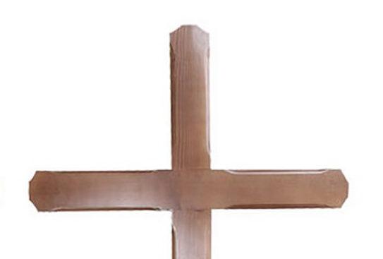 Cruce de lemn inmormântare