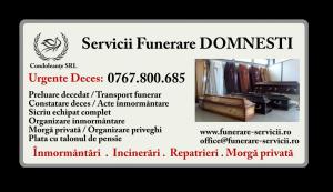 Servicii funerare Domnesti