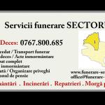Pompe funebre Sector 1 Bucuresti