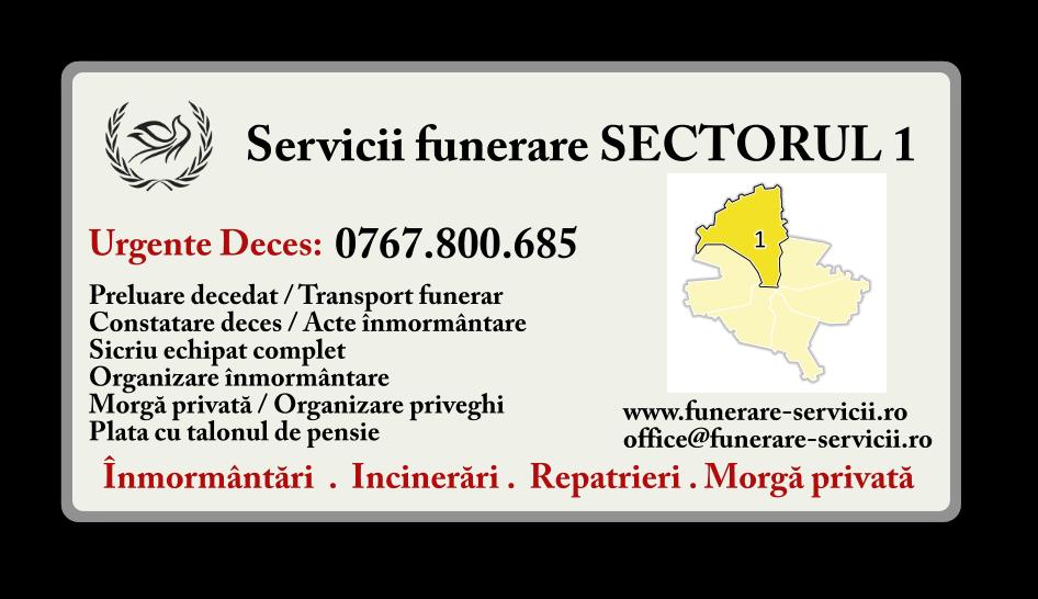 Servicii Funerare zona Băneasa
