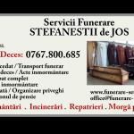 Servicii funerare Ștefăneștii de Jos