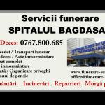 Telefon Morgă Spitalul Bagdasar-Arseni București