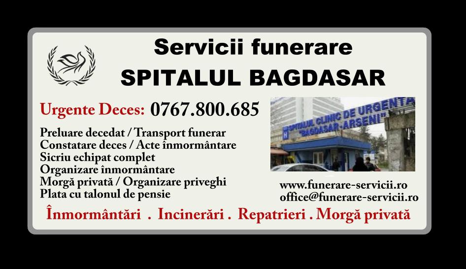 Servicii funerare Spitalul Bagdasar Bucuresti