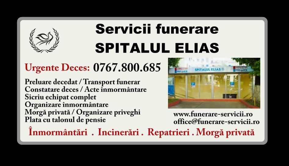 Servicii funerare Spitalul Elias Bucuresti