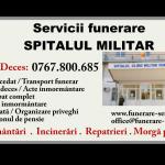 Telefon Morgă Spitalul Militar București